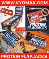 VYOMAX® PROTEIN FLAPJACKS - BOX OF 12